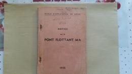 Notice Sur Le Pont Flottant M4 - Frans