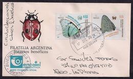 Argentina - 2018 - Lettre - Papillons - Butterflies - Argentina
