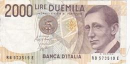 Italie - Billet De 2000 Lire - G. Marconi - 3 Octobre 1990 - [ 2] 1946-… Republik