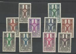Ghadames 1949: 1/ 8 + P.A. 1/ 2 Neufs ** MNH Cote YT 116€ - Ghadames (1949)