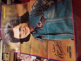 Poster 58x84 Cm(deplie) Tire D'un Magazine Frederic François - People