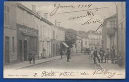 EURVILLE   Grande Rue  E    Animées    écrite En 1904 - Sonstige Gemeinden