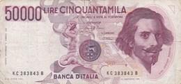 Italie - Billet De 50000 Lire - G.L. Bernini - 6 Février 1984 - 50000 Liras