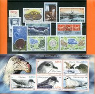 TAAF; FSAT ;2009;année Complète;n° 521 à 551; + BF N°22 ;NEUFS**;MNH - French Southern And Antarctic Territories (TAAF)