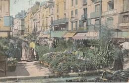 76 - DIEPPE - Le Marché Aux Fleurs Place Nationale - Dieppe