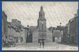 CHATELAUDREN    La Place De La Répulique     Animées     écrite En 1916 - Châtelaudren