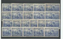 1938 Pierre Et Marie Curie Complète** MNH Cote YT 497€25 - 1938 Pierre Et Marie Curie