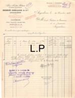 36-1840   1932 FERS FONTES METAUX ET GROSSE QUINCAILLERIE HERVE DELAGE A ANGOULEME - ECOLE PRATIQUE DE COMMERCE ET D IND - 1900 – 1949
