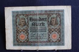 7 / Allemagne - République De Weimar, Reichsbanknote - 1.10.1920 / 100 Mark  -  N° R.B.D   U . 19872380 - [ 3] 1918-1933 : République De Weimar