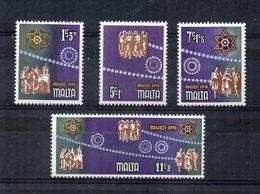 Malta - 1978 - Natale - 4 Valori - Nuovi - Vedi Foto - (FDC15592) - Malta