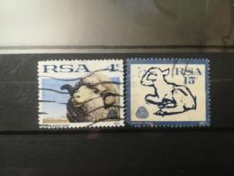FRANCOBOLLI STAMPS SUD AFRICA SOUTH 1972 USED SERIE COMPLETA PECORE E LANA RSA - Sud Africa (1961-...)