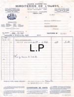 36-1612   1956 SOCIETE ANONYME DES MIROITERIES DE L OUEST A ANGOULEME - M. RAFFOUX A NEUILLET VOULEME - France