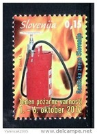 2209/ Slowenien Slovenia Slovenie 2012 ** MNH Feuerwehr Fireman Firebrigade Week Of Fire Woche Der Feuer - Slovenia