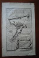 Comores Anjouan : Carte Rarissime De 1724 Par François Valentyn «Anzuany» - Geographical Maps