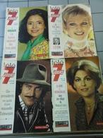 Lot De 6 Télé 7 Jours De 1974 - Journaux - Quotidiens