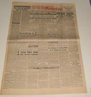 Ouest-France Du 28 Décembre 1945.(Marcel Bucard Jugé) - Revues & Journaux