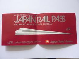 "Abbonamento ""JAPAN RAIL PASS "" 1988 - Abbonamenti"