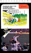 Humour Sport Origine Du Rugby Angleterre Ballon Ovale Match Cordonnier Gilbert Vessie De Porc Et Cuir  D36 - Old Paper