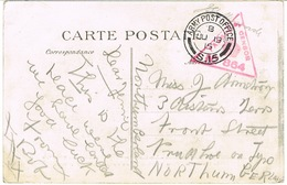 CPA DE ROUEN EN FRANCHISE MILITAIRE CAD ARMY POST OFFICE S15 CACHET DE CENSURE - Storia Postale