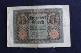 9 / Allemagne - République De Weimar, Reichsbanknote - 1.10.1920 / 100 Mark - N° R.B.D  W . 7549929 - [ 3] 1918-1933 : République De Weimar