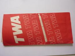 """Biglietto Aereo """"TWA MILANO MALPENSA - NEW YORK"""" Ottobre 1991 - Carte D'imbarco Di Aerei"""