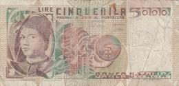 Italie - Billet De 5000 Lire - Antonello Da Messina - 1er Juillet 1980 - [ 2] 1946-… : République