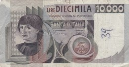 Italie - Billet De 10000 Lire - Michelangelo - 8 Septembre 1980 - [ 2] 1946-… : République