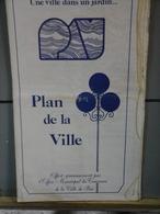 Plan De La Ville De Pau  Année 60 ? - Technical Plans