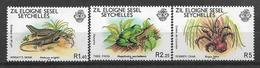 SEYCHELLES 1981 STAMPS SET INSECTS MNH - Seychelles (1976-...)