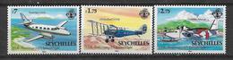 SEYCHELLES 1983 STAMPS SET AIRPLANE  MNH - Seychelles (1976-...)