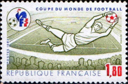 France Poste N** Yv:2209 Mi 2331 Yv:1,85 Euro Coupe Du Monde De Football Espagne - France