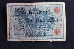 10 / Allemagne -  Empire Allemand , Reichsbanknote -  100 Mark - Berlin  7. 2.1908  /  N°  Nr 9678274D - [ 2] 1871-1918 : Empire Allemand