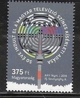 HUNGARY, 2019, MNH, TV, HUNGARIAN TV, COLOUR TRANSMISSION,1v - Sciences