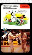 Humour Sport Judo Judokas Kimonos Judogi D36 - Old Paper