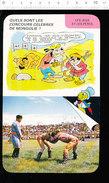 Humour Mongolie Concours Sport Lutte Tir à L'arc Naadam Fête Nationale Du 11 Juillet Lutteurs Mongols / D36 - Old Paper