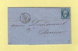 Suregeres - 16 - Charente Inferieure - Pc 2956 - 28 Oct 1858 - 1849-1876: Classic Period