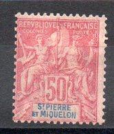 SAINT PIERRE Et MIQUELON - YT N° 69 - Neuf * - MH - Cote: 56,00 € - St.Pierre & Miquelon