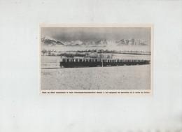 Train Annemasse Samoens Sixt Vallée Du Giffre  Années 60 - Old Paper