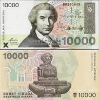Croatia 1992 - 10000 Dinars - Pick 25 UNC - Croatia