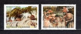Nlle CALEDONIE  PA N° 329 + 330  NEUFS SANS CHARNIERE  COTE 5.10€   DANSE - Airmail