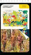 Humour Ethnologie Afrique Peuple Pygmée Photo Pygmées Au Zaïre D36 - Old Paper