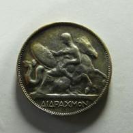 Greece 2 Drachmai 1911 Silver - Greece