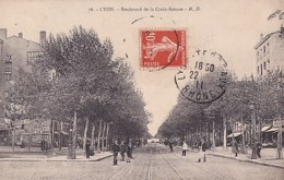 LYON              BOULEVARD DE LA CROIX ROUSSE - Lyon