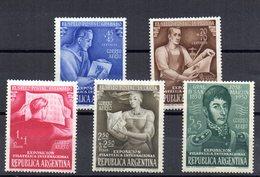 Serie Nº A-34/8 Argentina - Airmail
