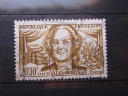 "VEND BEAU TIMBRE DE FRANCE N° 1209 , OBLITERATION "" DENAIN "" !!! - Used Stamps"