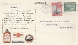 PUB PLASMARINE LABO LA BIOMARINE BERMUDES HAMILTON 1952 - Bermuda