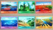 China 2013-R32 Beautiful China Stamps Sea Beach Mount Rock Island Farm Bird Crane Nature - 1949 - ... People's Republic