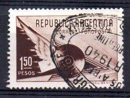 Sello Nº 411  Argentina - Argentina