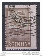 ARGENTINA  VARIETA' :  1959  GIRASOLI  -  1 P. BRUNO  US. -  DENTELLATURA  SPOSTATA  -  YV/TELL. 604 A - Argentina