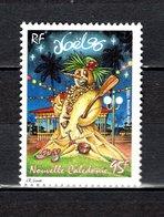 Nlle CALEDONIE  PA N° 337   NEUF SANS CHARNIERE  COTE 2.55€  NOEL - Airmail